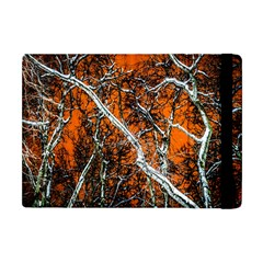 Red Night Of Winter Apple Ipad Mini Flip Case by FunnyCow