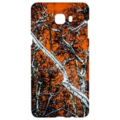 Red Night Of Winter Samsung C9 Pro Hardshell Case  by FunnyCow