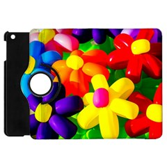 Toy Balloon Flowers Apple Ipad Mini Flip 360 Case by FunnyCow
