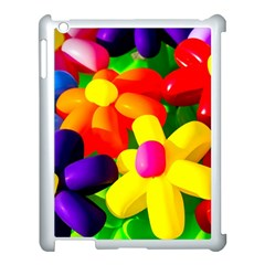 Toy Balloon Flowers Apple Ipad 3/4 Case (white) by FunnyCow