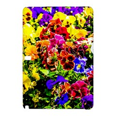 Viola Tricolor Flowers Samsung Galaxy Tab Pro 12 2 Hardshell Case by FunnyCow