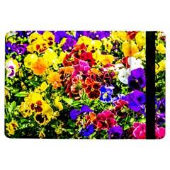 Viola Tricolor Flowers Ipad Air Flip by FunnyCow
