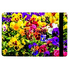 Viola Tricolor Flowers Ipad Air 2 Flip by FunnyCow
