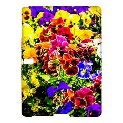 Viola Tricolor Flowers Samsung Galaxy Tab S (10 5 ) Hardshell Case  by FunnyCow