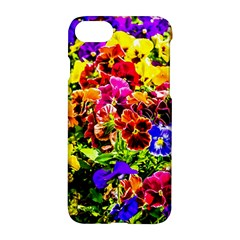 Viola Tricolor Flowers Apple Iphone 7 Hardshell Case by FunnyCow