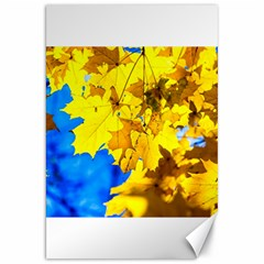 Yellow Maple Leaves Canvas 20  X 30   by FunnyCow