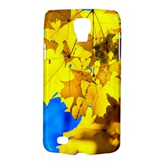 Yellow Maple Leaves Samsung Galaxy S4 Active (i9295) Hardshell Case by FunnyCow