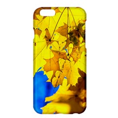Yellow Maple Leaves Apple Iphone 6 Plus/6s Plus Hardshell Case by FunnyCow