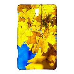 Yellow Maple Leaves Samsung Galaxy Tab S (8 4 ) Hardshell Case  by FunnyCow