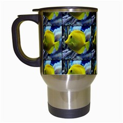 Fish Travel Mugs (white) by ArtworkByPatrick1