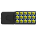 FISH Rectangular USB Flash Drive Front