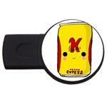 Kawaii cute Tennants Lager Can USB Flash Drive Round (2 GB) Front