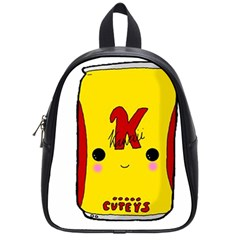 Kawaii Cute Tennants Lager Can School Bag (small) by CuteKawaii1982