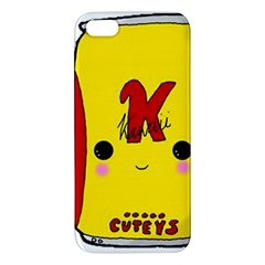Kawaii Cute Tennants Lager Can Apple Iphone 5 Premium Hardshell Case