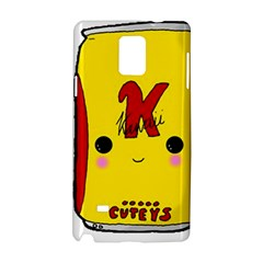 Kawaii Cute Tennants Lager Can Samsung Galaxy Note 4 Hardshell Case by CuteKawaii1982