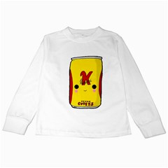 Kawaii Cute Tennants Lager Can Kids Long Sleeve T Shirts