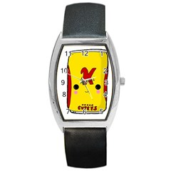 Kawaii Cute Tennants Lager Can Barrel Style Metal Watch by CuteKawaii1982