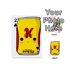 Kawaii Cute Tennants Lager Can Playing Cards 54 (mini)  by CuteKawaii1982