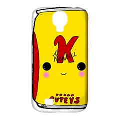 Kawaii Cute Tennants Lager Can Samsung Galaxy S4 Classic Hardshell Case (pc+silicone) by CuteKawaii1982