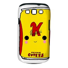 Kawaii Cute Tennants Lager Can Samsung Galaxy S Iii Classic Hardshell Case (pc+silicone) by CuteKawaii1982