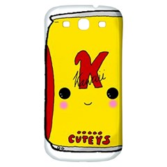 Kawaii Cute Tennants Lager Can Samsung Galaxy S3 S Iii Classic Hardshell Back Case by CuteKawaii1982