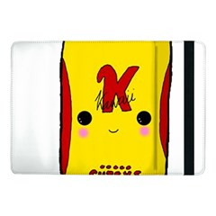 Kawaii Cute Tennants Lager Can Samsung Galaxy Tab Pro 10 1  Flip Case by CuteKawaii1982