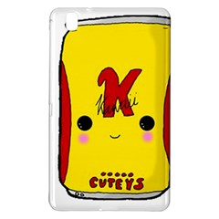 Kawaii Cute Tennants Lager Can Samsung Galaxy Tab Pro 8 4 Hardshell Case by CuteKawaii1982