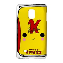 Kawaii Cute Tennants Lager Can Samsung Galaxy Note Edge Hardshell Case by CuteKawaii1982