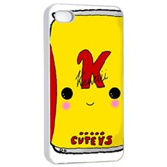 Kawaii Cute Tennants Lager Can Apple Iphone 4/4s Seamless Case (white) by CuteKawaii1982
