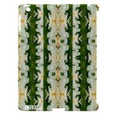 Fantasy Jasmine Paradise Bloom Apple Ipad 3/4 Hardshell Case (compatible With Smart Cover) by pepitasart