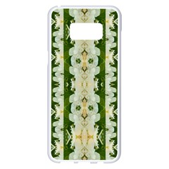 Fantasy Jasmine Paradise Bloom Samsung Galaxy S8 Plus White Seamless Case by pepitasart
