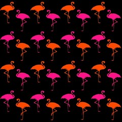 Flamingos Tropical Sunset Colors Flamingo Magic Photo Cubes by CrypticFragmentsColors