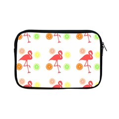 Flamingo Tropical Fruit Pattern Apple Ipad Mini Zipper Cases by CrypticFragmentsColors