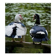 Muscovy Ducks At The Pond Shower Curtain 66  X 72  (large)