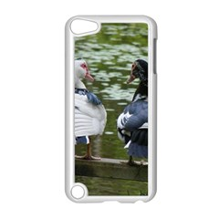 Muscovy Ducks At The Pond Apple Ipod Touch 5 Case (white) by IIPhotographyAndDesigns
