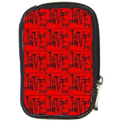 Love 1 Compact Camera Cases by ArtworkByPatrick1