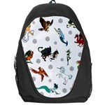 Dundgeon and Dragons Dice and Creatures Backpack Bag Front