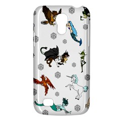 Dundgeon And Dragons Dice And Creatures Samsung Galaxy S4 Mini (gt I9190) Hardshell Case  by IIPhotographyAndDesigns