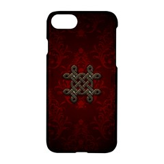 Decorative Celtic Knot On Dark Vintage Background Apple Iphone 8 Hardshell Case by FantasyWorld7