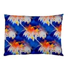 Palm Trees Tropical Beach Sunset Pillow Case (two Sides)