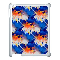 Palm Trees Tropical Beach Sunset Apple Ipad 3/4 Case (white) by CrypticFragmentsColors