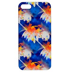 Palm Trees Tropical Beach Sunset Apple Iphone 5 Hardshell Case With Stand