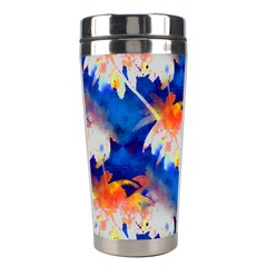 Palm Trees Tropical Beach Sunset Stainless Steel Travel Tumbler