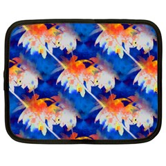 Palm Trees Tropical Beach Sunset Netbook Case (xxl) by CrypticFragmentsColors