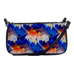 Palm Trees Tropical Beach Sunset Shoulder Clutch Bag