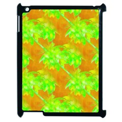 Coconut Palm Trees Caribbean Vibe Apple Ipad 2 Case (black) by CrypticFragmentsColors