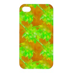 Coconut Palm Trees Caribbean Vibe Apple Iphone 4/4s Premium Hardshell Case