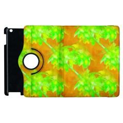 Coconut Palm Trees Caribbean Vibe Apple Ipad 3/4 Flip 360 Case by CrypticFragmentsColors