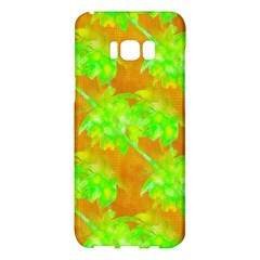 Coconut Palm Trees Caribbean Vibe Samsung Galaxy S8 Plus Hardshell Case