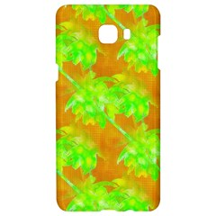 Coconut Palm Trees Caribbean Vibe Samsung C9 Pro Hardshell Case  by CrypticFragmentsColors